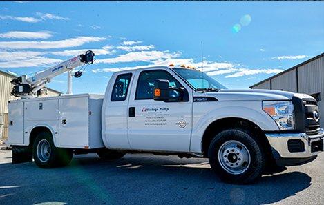 Vantage Pump Service Truck